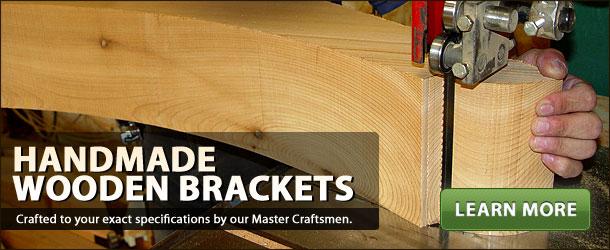 Handmade Wooden Brackets